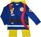Feuerwehrmann Sam Schlafanzug Lang Pyjama