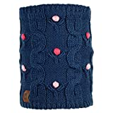 Buff Junior Knitted & Polar Neckwarmer Dysha Dark Navy