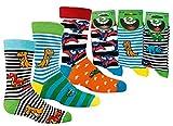 Kinder Socken 6 Paar Jungen oder Mädchen,Schadstoffgeprüfte Textilien nach Öko-Tex Standard 100