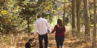 Herbst Urlaub Paare